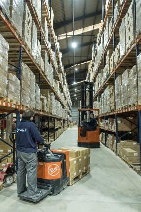 Nuestros servicios logísticos y cadena logistica de productos en Madrid