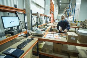 gestión de logística promocional dentro de la empresa en Madrid